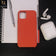 HQ Silica Gel Silicon Shockproof Matte Soft Case For iPhone 11 Pro - Orange