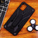 Vivo V20 - Black - Luxury Hybrid Hybrid Shockproof Stand Case