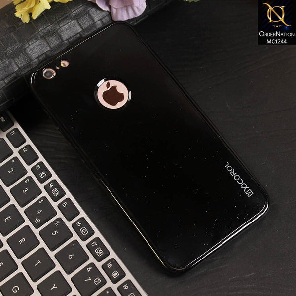 360 Gloss Black Shine Tpu Full Protection Soft Case For iPhone 6 Plus