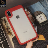 Auto Focus Ultimte Experience NEW 360 Front+Back PC+TPU Luxury Case For iPhone XS / X - Red