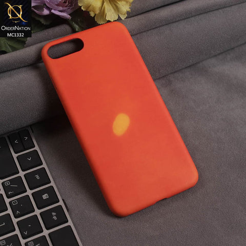 New Thermal Sensor Red Soft Case For iPhone 7 Plus