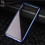 Luxury HQ Shatterproof King Magnetic Back Glass Case For Samsung Galaxy A30 - No Glass On Screen Side - Blue