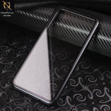 Luxury HQ Shatterproof King Magnetic Back Glass Case For Samsung Galaxy A50 - No Glass On Screen Side - Black