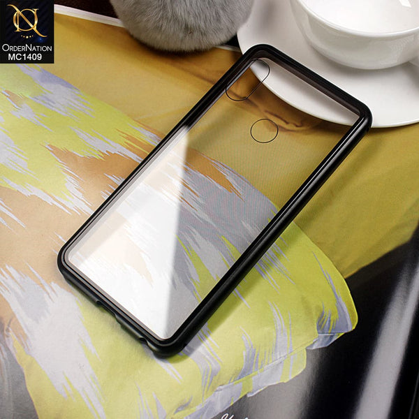 Luxury HQ Shatter Proof King Magnetic Case For Xiaomi Redmi Note 5 Pro - Black