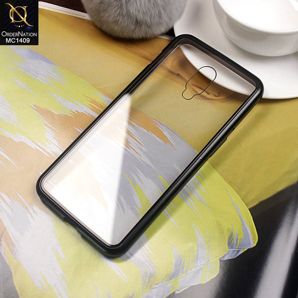 Luxury HQ Shatter Proof King Magnetic Case For Oneplus 6T - Black
