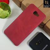 Luxury PU BOB Leather Case For Samsumg J5 Prime - Red