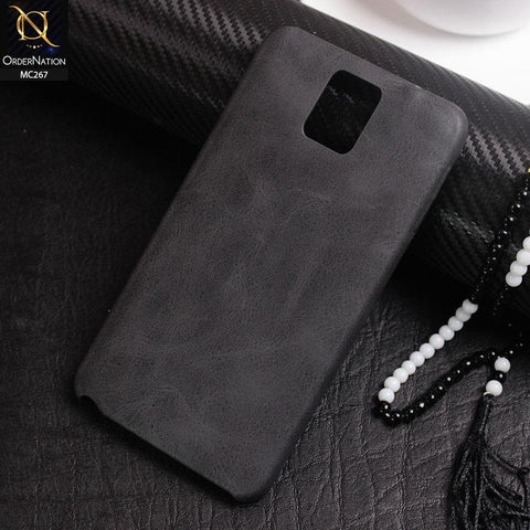 Luxury PU BOB Leather Case For Samsung Galaxy Note 3 - Black