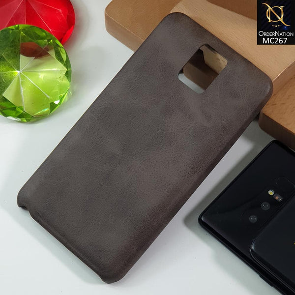 Luxury PU BOB Leather Case For Samsumg Note 3 - Darkbrown