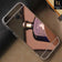 Luxury Mirror Shine Tpu Plane Simple Case For Samsung Galaxy A5 2017 / A520 - Rose Gold
