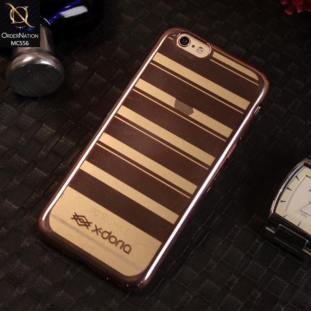 X-doria Electroplatd TPU Luxury Case For iPhone 6s / 6 - RoseGold