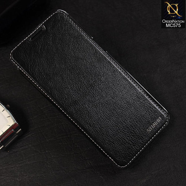 XUNDD encore series folio leather cover For Samsung S8 - Black