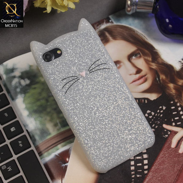Luxury Cute Kitty Soft TPU Cover Case For iPhone 8 / 7 - White