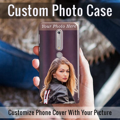 HD Print With Lifetime Print Warranty Case For Nokia 6.1 - Customize Photo
