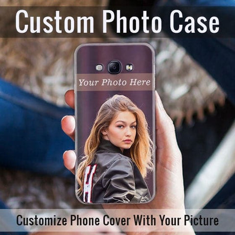 HD Print With Lifetime Print Warranty Hybrid Soft Case For Samsung A8 2015 - Customize Photo