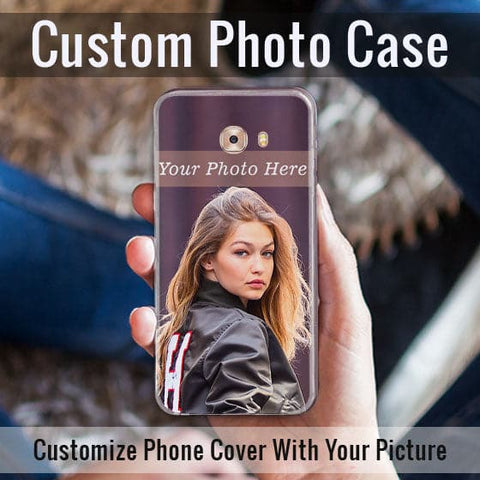 HD Print With Lifetime Print Warranty Hybrid Soft Case For Samsung C5 pro - Customize Photo