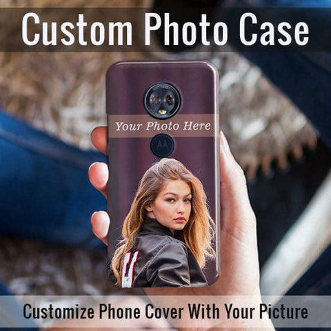 HD Print With Lifetime Print Warranty Case For Motorolla E5 Plus - Customize Photo