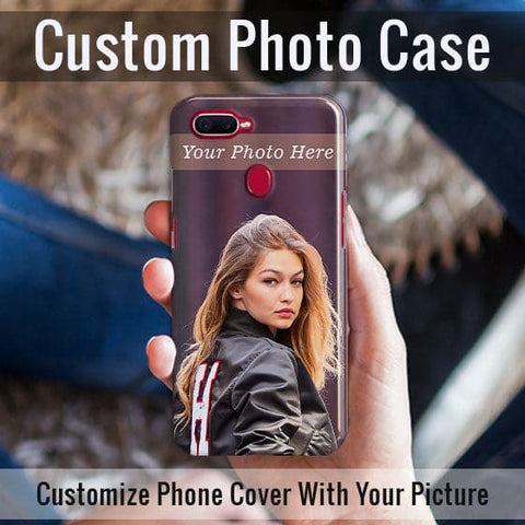 HD Print With Lifetime Print Warranty Case For Oppo F9 - Customize Photo