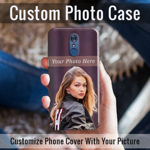 HD Print With Lifetime Print Warranty Case For LG Q7 - Customize Photo