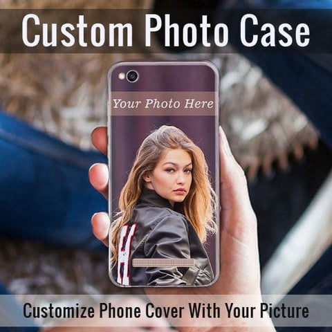 HD Print With Lifetime Print Warranty Hybrid Soft Case For Xiaomi Redmi 4A - Customize Photo