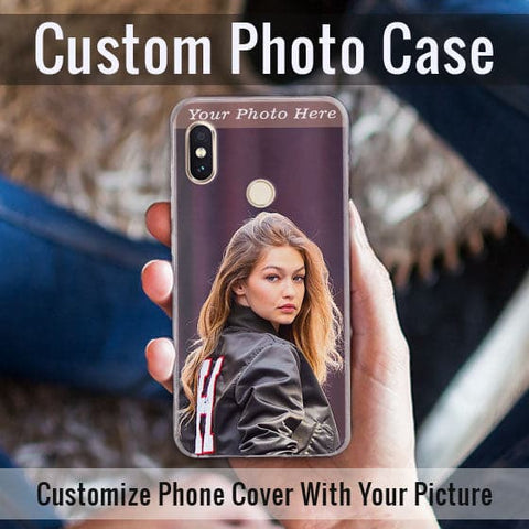 HD Print With Lifetime Print Warranty Hybrid Soft Case For Xiaomi Redmi Note 5 Pro - Customize Photo
