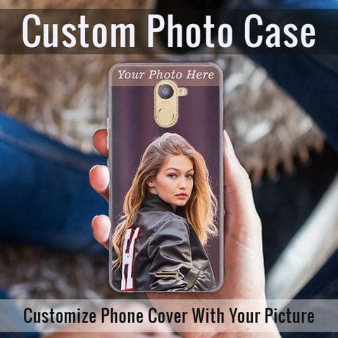HD Print With Lifetime Print Warranty Hybrid Soft Case For Infinix Hot 4 (X557) - Customize Photo