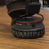 Nia Solid Bass Wireless Bluetooth Headphone - Black