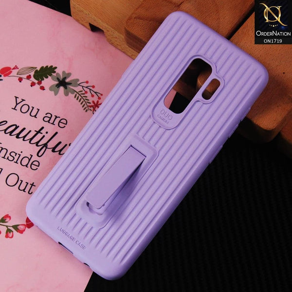 3D Youthful Candy Style Kickstand Case For Samsung Galaxy S9 Plus - Purple