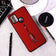 Samsung Galaxy A21s Cover - Red - Stylish Slide Finger Grip With Metal Kickstand Case
