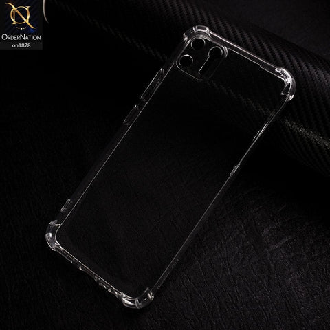 Realme C11 - Soft 4D Design Shockproof Silicone Transparent Clear Case