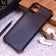 Translucent Matte Shockproof Case For iPhone 11 Pro Max - Black