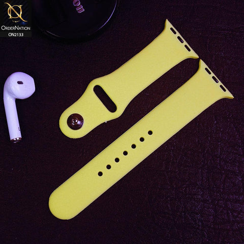 Apple Watch Strap Compatible 38/40mm - Lime - Soft Candy Color Watch Starp