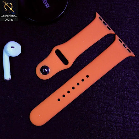 Apple Watch Strap Compatible 38/40mm - Peach - Soft Candy Color Watch Starp