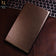Samsung Tab A 7.0 / T280 (2016) Cover - Brown - Dotted Leather Texture Smart Book Foldable Case