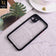 iPhone 11 - Black - Camera Protection Shiny Acrylic Anti-Shock Bumper Transparent Back Case
