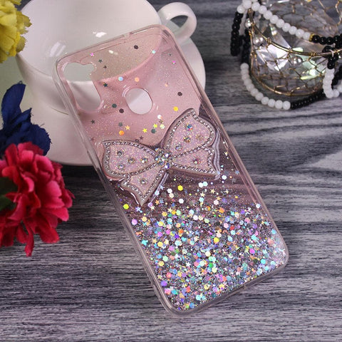Samsung Galaxy M11 - Pink - New Trendy Rhinestone Butterfly Brouge Soft Case