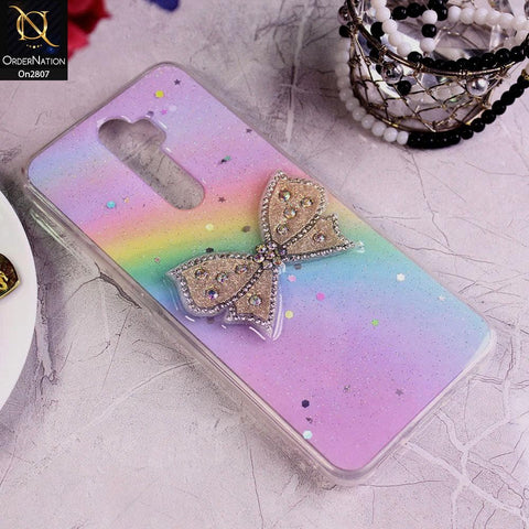 Oppo A5 2020 - Multi - New Trendy Rhinestone Butterfly Brouge Soft Case