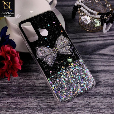 Tecno Spark 5 pro - Black - New Trendy Rhinestone Butterfly Brouge Soft Case