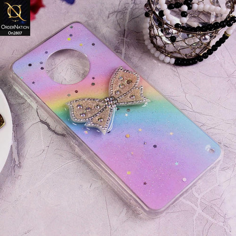Infinix Note 7 - Multi - New Trendy Rhinestone Butterfly Brouge Soft Case