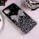 Huawei Nova 7i - Black - New Trendy Rhinestone Butterfly Brouge Soft Case