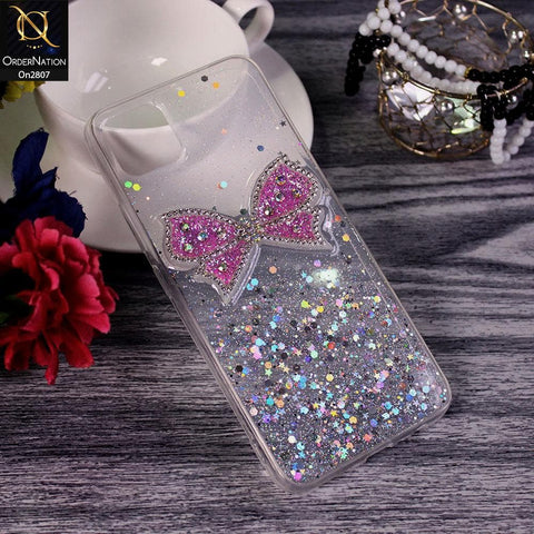 Realme C11 - Silver - New Trendy Rhinestone Butterfly Brouge Soft Case