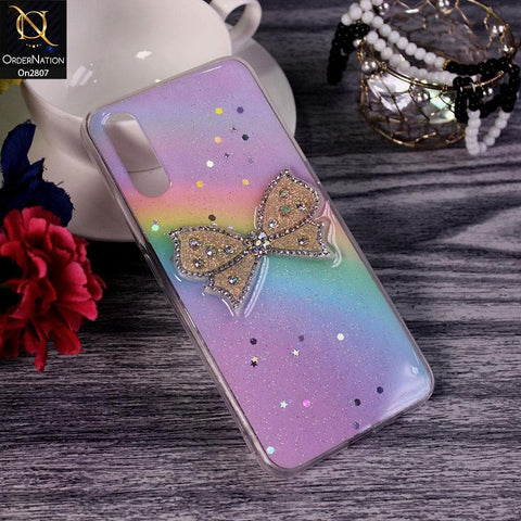 Xiaomi Redmi 9i - Multi - New Trendy Rhinestone Butterfly Brouge Soft Case