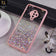 Vivo S1 Pro Cover - Pink - 3D Look Silver Foil Back Shell Case - Glitter Does not Move