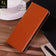 Samsung Galaxy Note 9 Cover - Light Brown -  Elegent Leather Wallet Flipbook Case