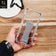 Xiaomi Redmi Note 8 Pro Cover - Gray - New Style Hybrid Soft Bumper Finger Grip Holder Transparent Case