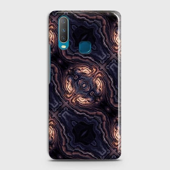 Vivo Y12 Cover - Source of Creativity Trendy Printed Hard Case with Life Time Colors Guarantee