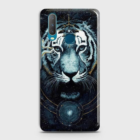 Vintage Galaxy 3D Tiger Case For vivo Y15