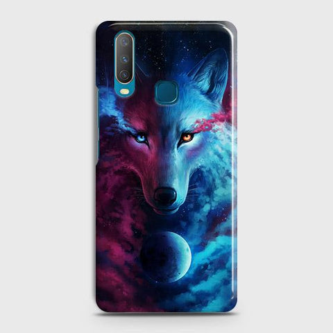 Infinity Wolf 3D Trendy Case For vivo Y15