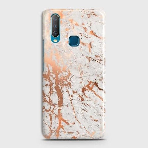 3D Print in Chic Rose Gold Chrome Style Case For vivo Y17