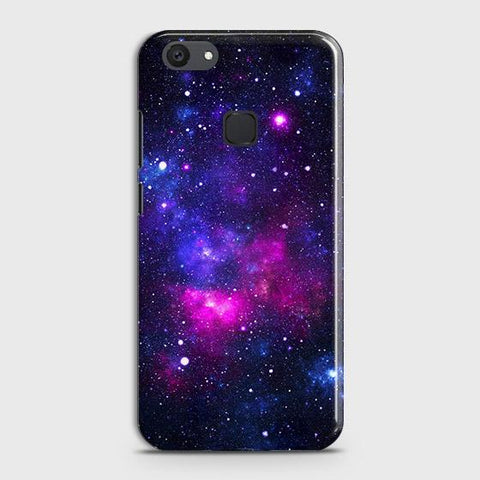 vivo Y81 Cover - Dark Galaxy Stars Modern Printed Hard Case with Life Time Colors Guarantee