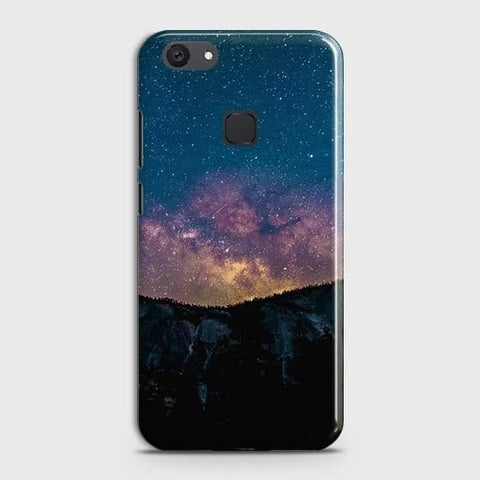 vivo Y81 Cover - Embrace Dark Galaxy  Trendy Printed Hard Case with Life Time Colors Guarantee